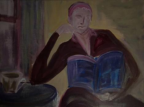 Woman with Coffee by Rashne Baetz