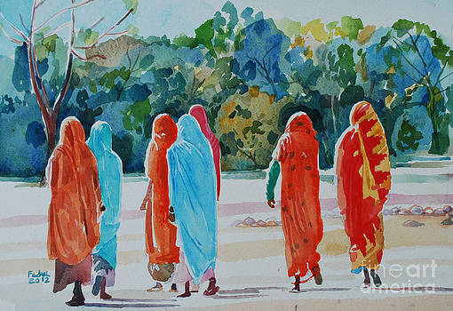 Women and the forest by Mohamed Fadul