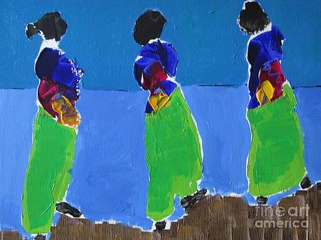 Women in Kimono by Omar Hafidi
