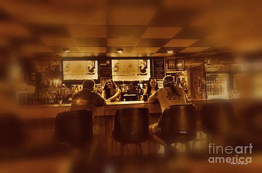 Dan Friend - Women talking to men in bar