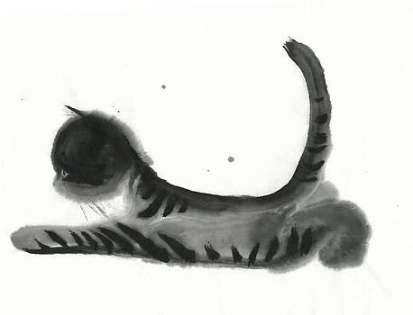 Wondering Cat by Mui-Joo Wee
