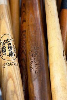 Art Block Collections - Wood Baseball Bats