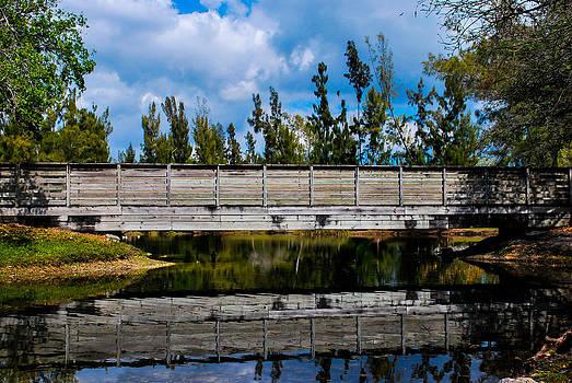 Wood Bridge by Jose Mena