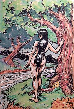 Wood Nymph by John Ashton Golden