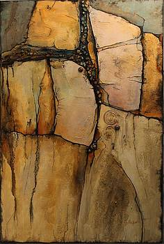Wood Rock by Carol  Nelson