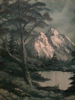 Wooded Peaks by Ricky Haug