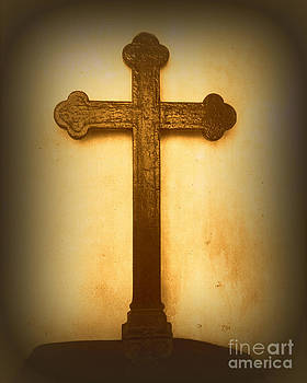 Vicki Maheu - Wooden Altar Cross