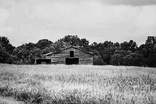 Wooden Barn  by Jinx Farmer
