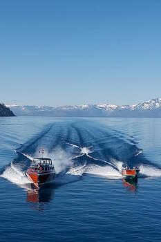 Steven Lapkin - Wooden Boats at Lake Tahoe
