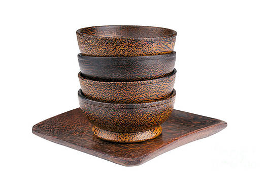 Tim Hester - Wooden Bowls Isolated