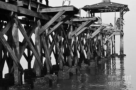 Wooden Bridge by Wayan Suantara