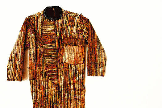 Wooden Garment Drawing by Pakorn Kitpaiboolwat