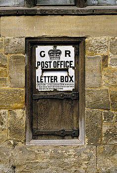 Wooden Letter Box Sussex UK by David Davies