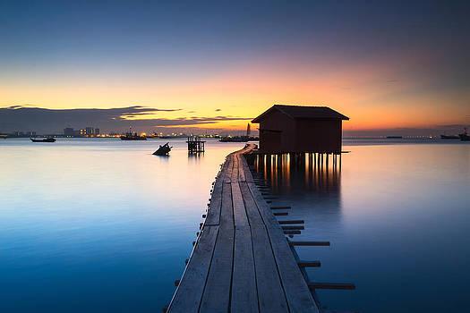 Wooden Pier by Jordan Lye