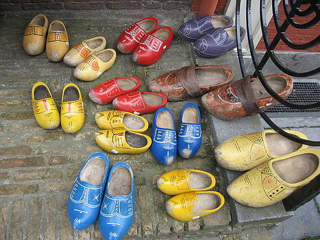 Wooden Shoes by Stefanie Weisman