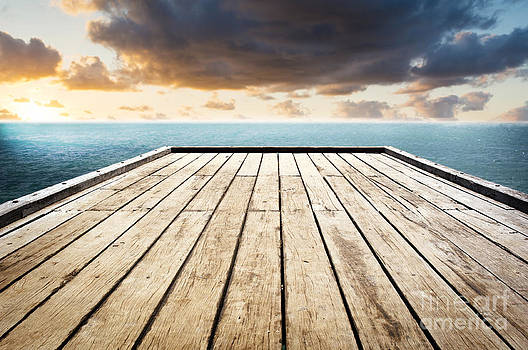 Tim Hester - Wooden Surface Sky