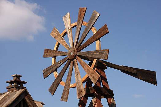 Art Block Collections - Wooden Windmill