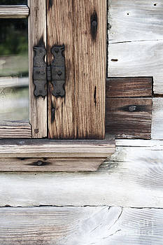 Wooden Window Frame by Agnieszka Kubica