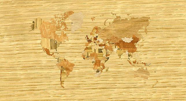 Hakon Soreide - Wooden World Map 2