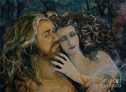Woodland Lord and Lady by Maureen Girard