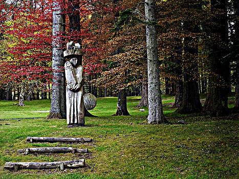 Woodland Madonna by Martin Billings
