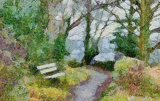 Bishopston Fine Art - Woodland Path