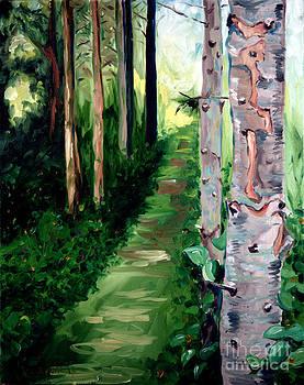 Woodland Path by Phil Hawn