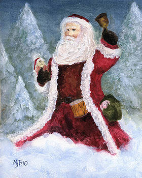 Woodlands Santa by Michael Beckett