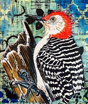 Woodpeckers work by Kitty Miller