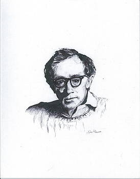 Woody Allen  by Jim  Romeo