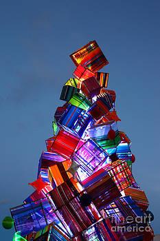 James Brunker - Wool Christmas Tree at Sunset