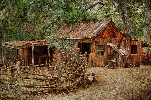 Wool Shed by Fred Larson