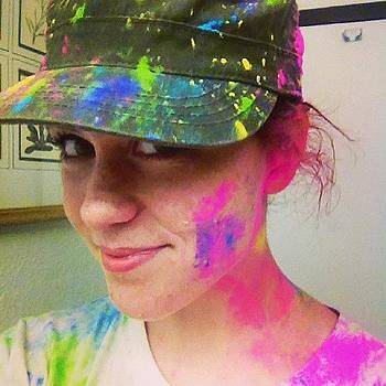 Woooooo. #color #cornstarch #ciyflorida by Danielle McComb