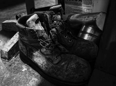 Work Boots by Anthony Cummigs