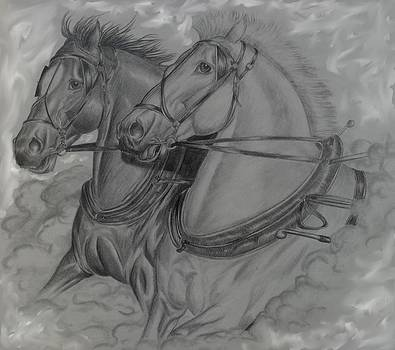Work Horses by Kay Sparks
