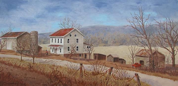 Working Farm by Tony Caviston