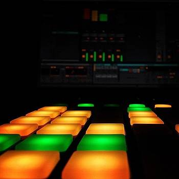 Working Hard... #launchpad #novation by Joshua Pearson