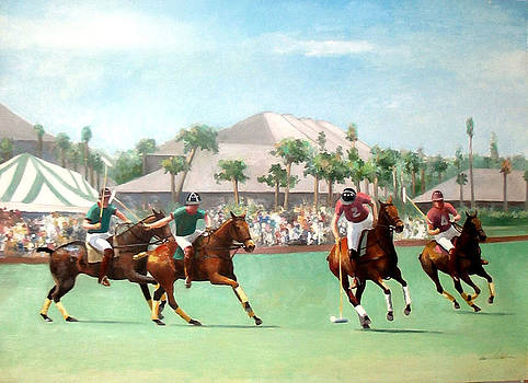 World Cup Polo by Anne Lattimore
