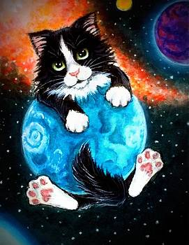 World Domination Kitty Style by Debrah Nelson