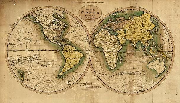 World Map by Csongor Licskai