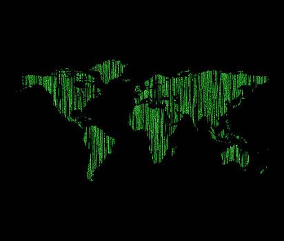 World Map Matrix by Keidi Sel
