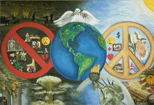 World Peace by Nancy L Jolicoeur