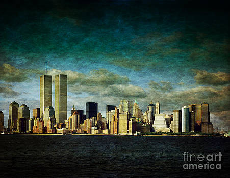 World Trade Center Towers by Heinz G Mielke