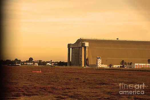 World War 2 Blimp Hangar by Timothy OLeary