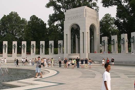 World War II Memorial - Washington DC - 01134 by DC Photographer