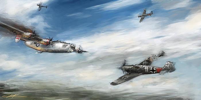World War II ring of fire by Ondrej Soukup
