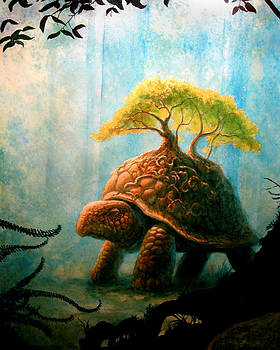 Worldly Turtle by Schel Harris