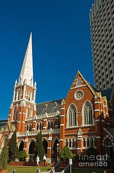 David Hill - Worship downunder - Red brick church in Brisbane - Queensland - Australia