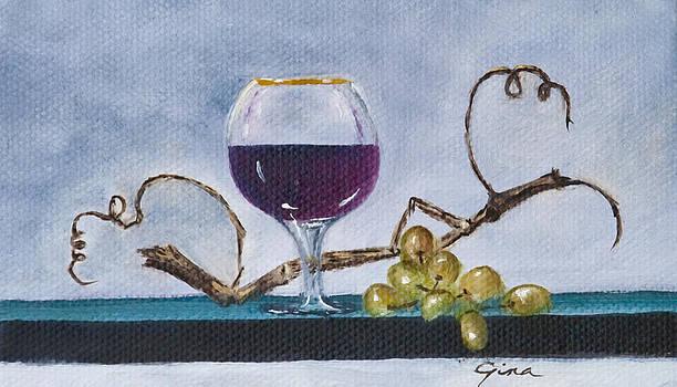 Would You Like A Glass Of Wine by Gina Cordova