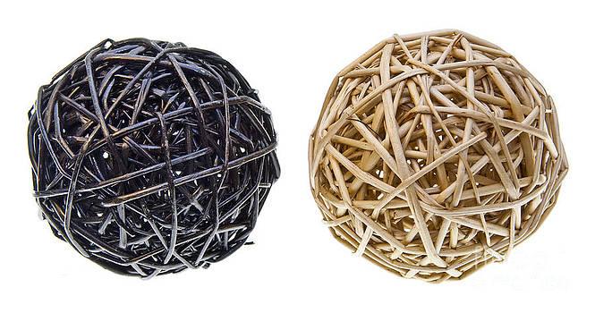 Tim Hester - Woven Wicker Balls